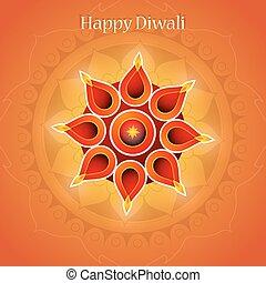 Indian festival diwali greeting card design indian festival diwali diwali festival greeting card m4hsunfo