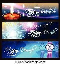 diwali festival headers