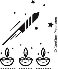 Diwali Festival - Illustration