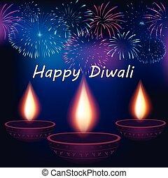 Diwali Festival Poster Design