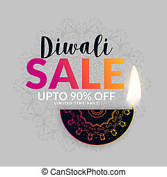 diwali festival sale banner design background