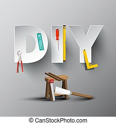 DIY - Do It Yourself Paper Cut Letters with Tools and ...