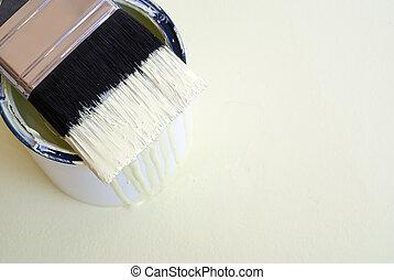 DIY home improvement paint brush