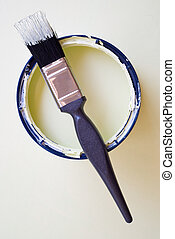 DIY home improvement painting