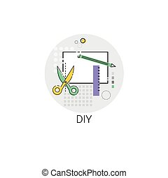 Diy House Renovation Tools Icon