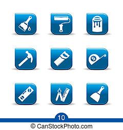 DIY icons no.10..smooth series - Set of nine diy web icons...