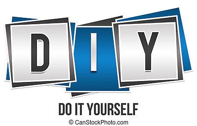 diy, usted mismo, -, él