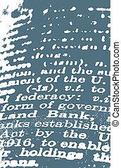 dizionario, testo