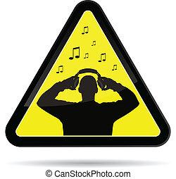 dj, 音楽, サイン