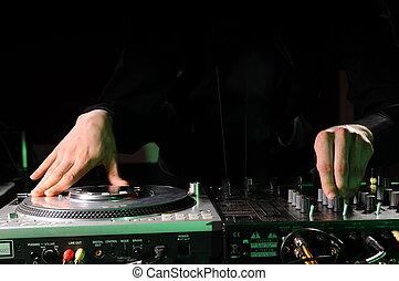 dj, 音楽, ナイトクラブ