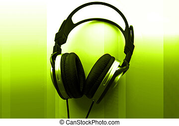 dj, auriculares