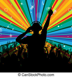 Dj Disco Shows Entertainment Beam And Deejay - Rays Disco...