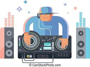 dj, karakter, muziek