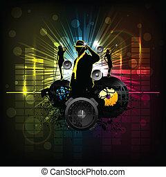 dj partido, cartaz