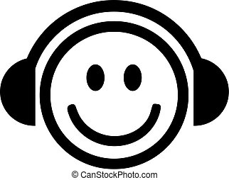dj, smiley