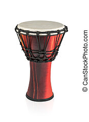 Djembe - ethnic wooden drum