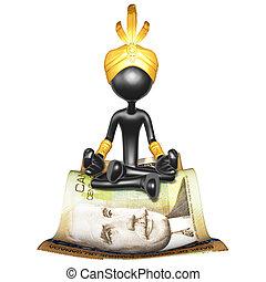 Djinn On Money Magic Carpet - A Concept And Presentation ...