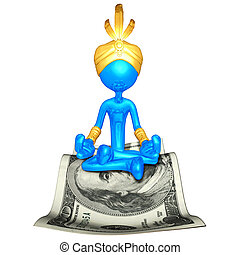 Djinn On Money Magic Carpet - A Concept And Presentation...