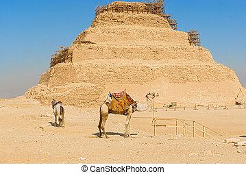 djoser, Egipto, pirámide