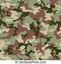 djungel, kamouflage