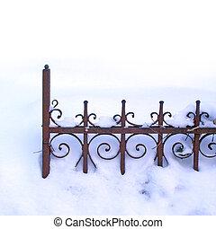 djup, vinter