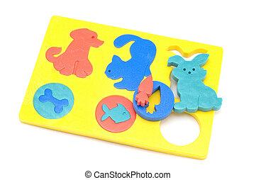 djuren, leksak