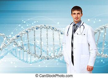 DNA, 擱淺, 插圖