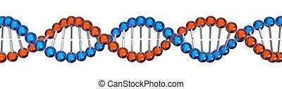 DNA, 擱淺
