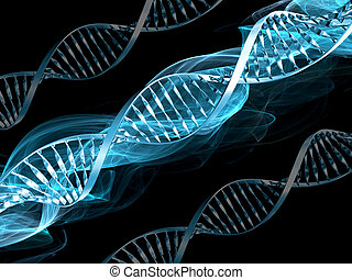 dna, abstract