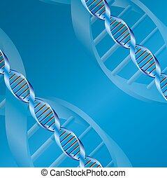 dna background - Science dna structure abstract design...