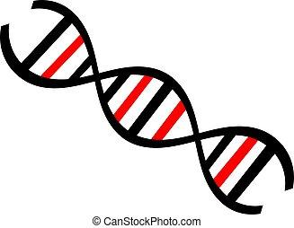 DNA design - symbol of dna