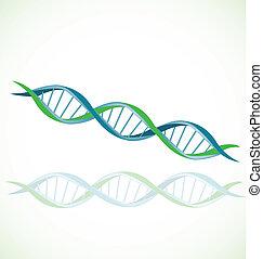DNA icon vector stock