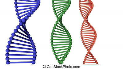 DNA Medical Science and Biotech Chemistry Genes
