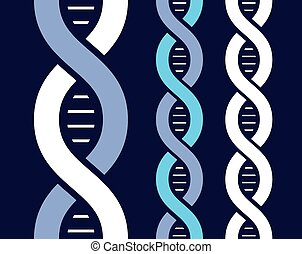 DNA molecule background