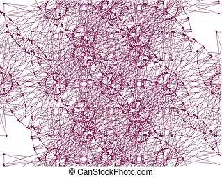 DNA Molecule Fractal Network ...
