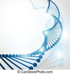 DNA molecule structure background
