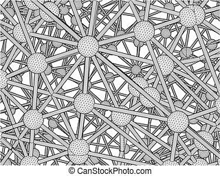 dna, molecule, structuur