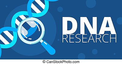 dna research illustration