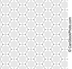 DNA, scientifico, grigio, scienza, Estratto, molecola,  seamless, modello, o, medico, ricerca, disegno, medicina, fondo, geometrico, esagonale, chimica, tecnologia, concetto, struttura