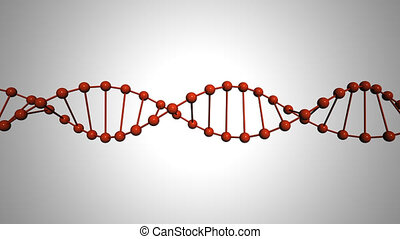 DNA animation loop hd 1080