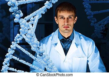 DNA strand illustration