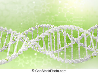 dna. strand, illustration