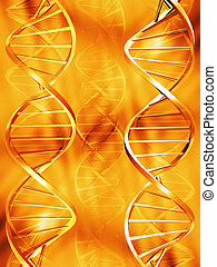 DNA strands - DNA abstract background