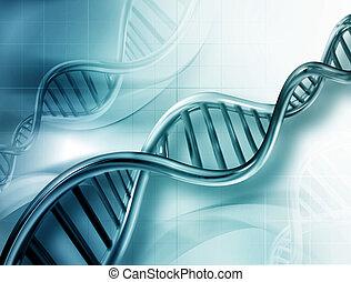 DNA strands