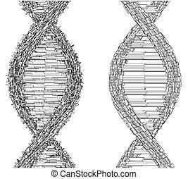 DNA String Futuristic Megalop...