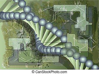 DNA., Videnskabelige, Baggrund
