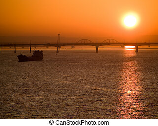 Dnipropetrovsk sunrise