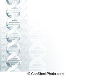 dns, spirale, hintergrund, doppelgänger, molekül