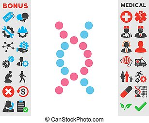 dns, spirale, ikone