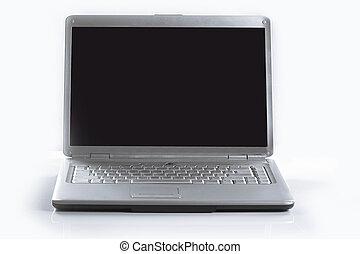 do góry., .photo, przestrzeń, ekran, notatnik, czysty, zamknięcie, szykowny, kopia